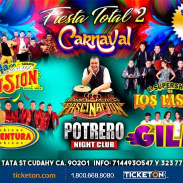 FIESTA TOTAL 2/CARNAVAL EN LOS ANGELES