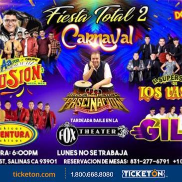 FIESTA TOTAL 2/CARNAVAL EN SALINAS