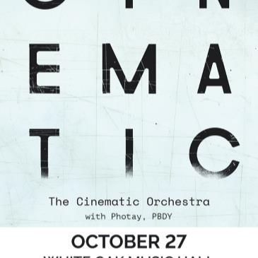 The Cinematic Orchestra with Photay and PBDY-img