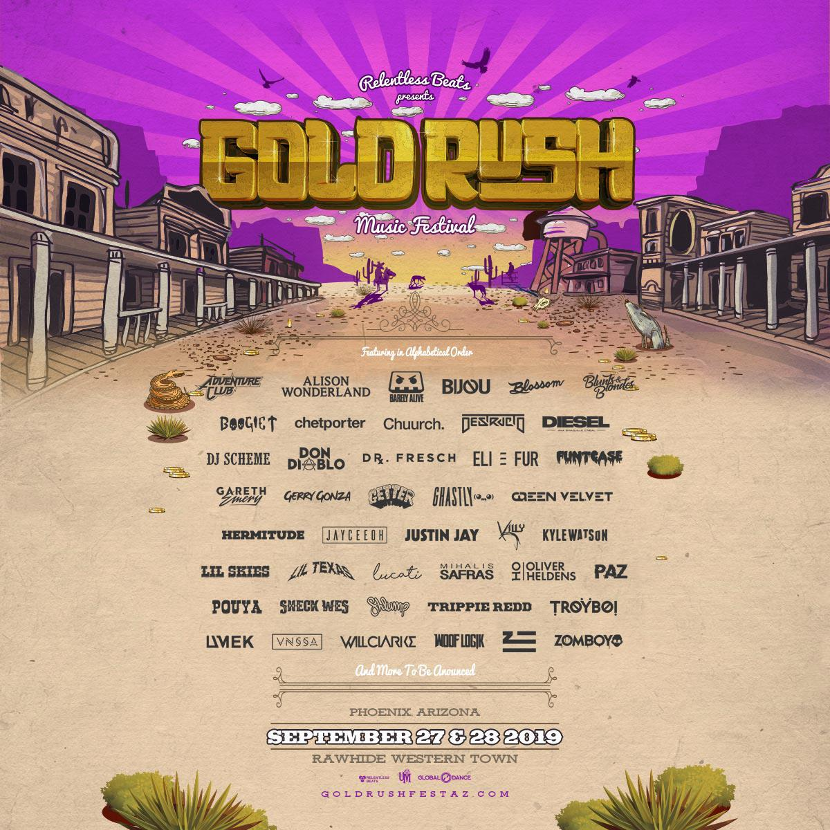 Buy Tickets to Goldrush 2019 in Chandler on Sep 27, 2019