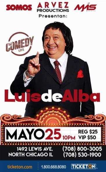 LUIS DE ALBA COMEDY LIVE: Main Image