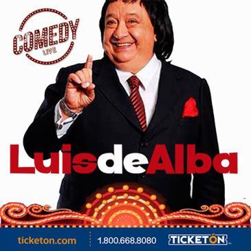 LUIS DE ALBA COMEDY LIVE