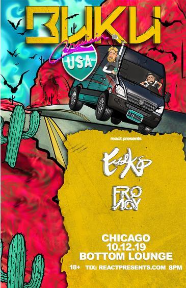 Buku's Cruisn' USA Tour: Main Image