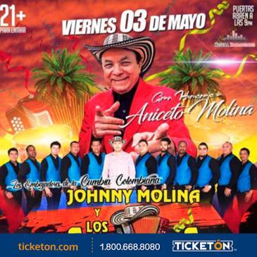 JOHNNY MOLINA Y LOS SABANEROS: Main Image