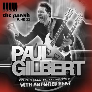 Paul Gilbert with Amplified Heat: Main Image
