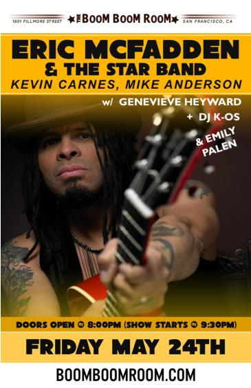 ERIC McFADDEN (Kevin Carnes, Mike Anderson, Genevieve H.) ++: Main Image