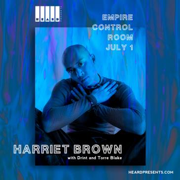 Harriet Brown w/ Drint and Torre Blake: Main Image