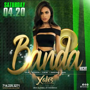XALOS SATURDAY NIGHT 4/20: Main Image