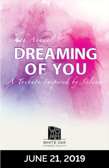 "4th Annual ""Dreaming of You"" A Tribute Inspired by Selena: Main Image"