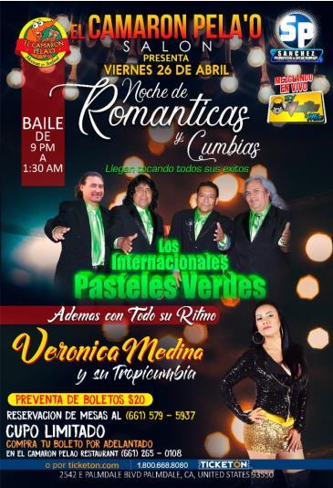 NOCHE DE ROMANTICAS Y CUMBIAS: Main Image
