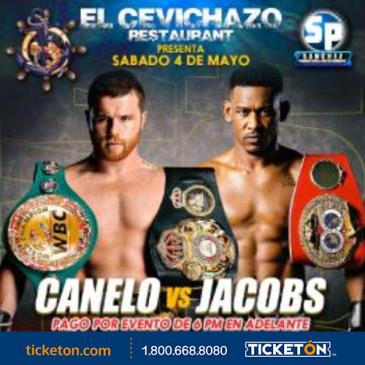 CANELO VS JACOBS: Main Image