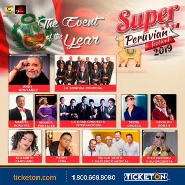 SUPER PERUVIAN FESTIVAL 2019