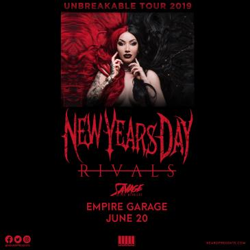 New Years Day w/ RIVALS, Savage After Midnight-img