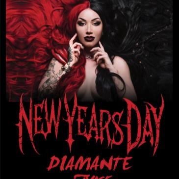 New Years Day w/ Diamante, Savage After Midnight-img