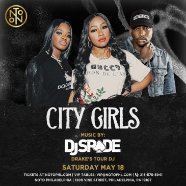 City Girls: Music By: DJ Spade: Main Image