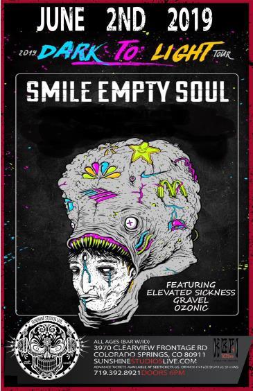 Smile Empty Soul Dark To Light Tour: Main Image