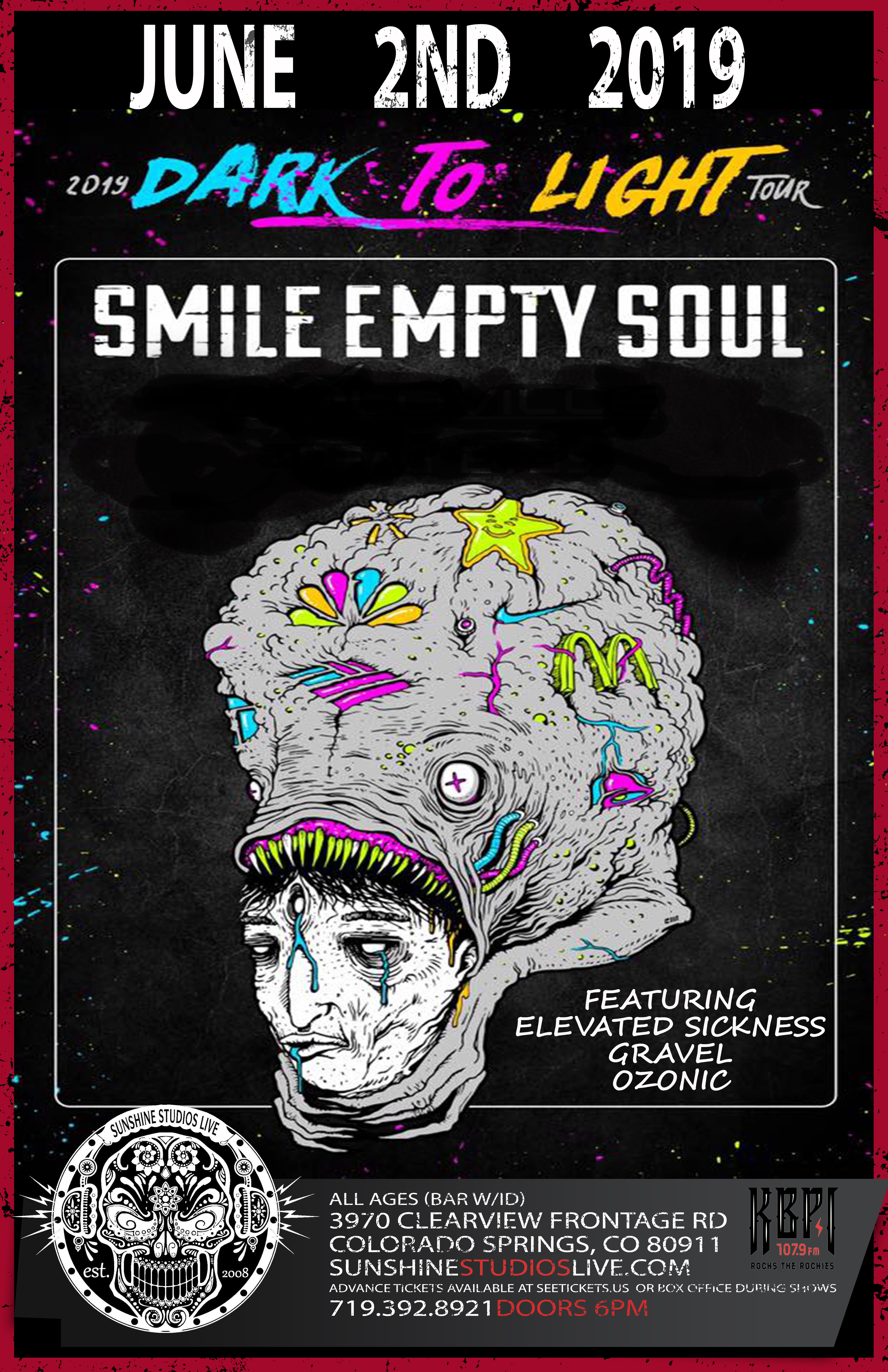 Buy Tickets to Smile Empty Soul Dark To Light Tour in Colorado