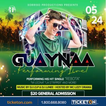 GUAYNAA LIVE IN CONCERT