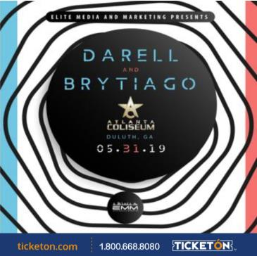EMM PRESENTS DARELL AND BRYTIAGO: Main Image