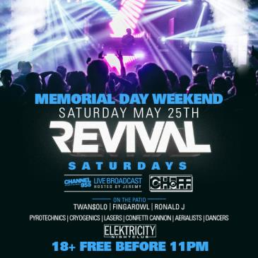 REVIVAL (FREE ENTRY BEFORE 11PM): Main Image
