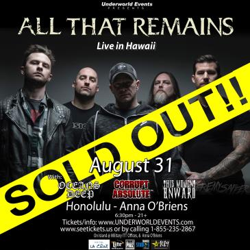 All That Remains Presented by Underworld Events-img