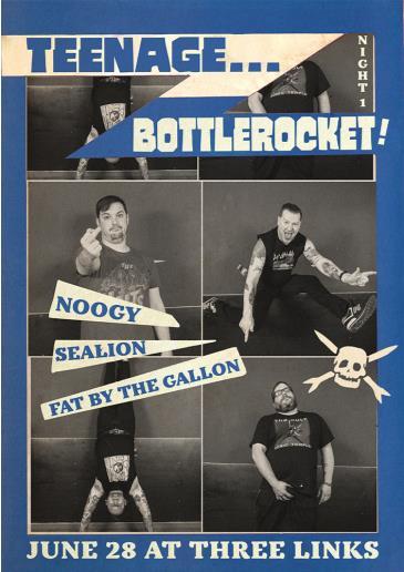 Teenage Bottlerocket (Night 1): Main Image