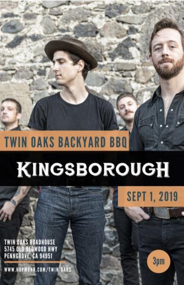 Twin Oaks Backyard BBQ: KINGSBOROUGH: Main Image