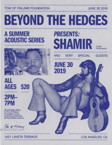 Beyond the Hedges with Shamir: Main Image