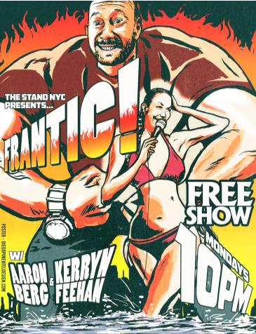 Frantic FREE Show - Part of the 2019 Free Stand Up Festival!: Main Image