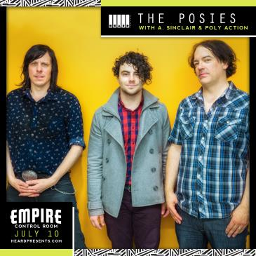 The Posies w/ A. Sinclair, Poly Action: Main Image