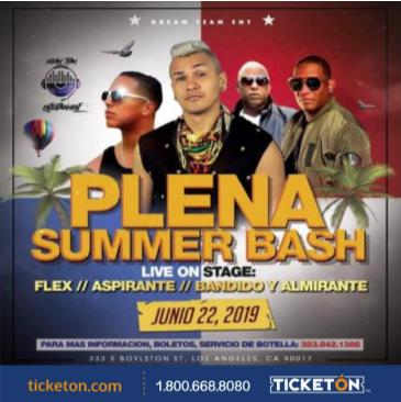 PLENA SUMMER BASH: Main Image