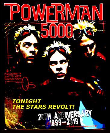 "Powerman 5000 ""20th Anniversary Tour"": Main Image"