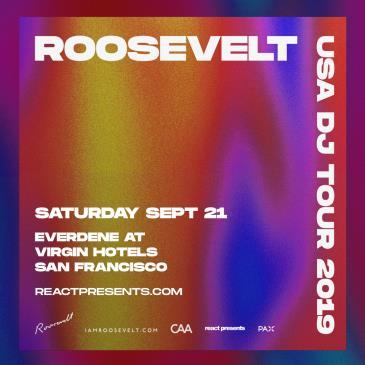 DAYLIGHT DISCO (SF): ROOSEVELT (DJ Set): Main Image