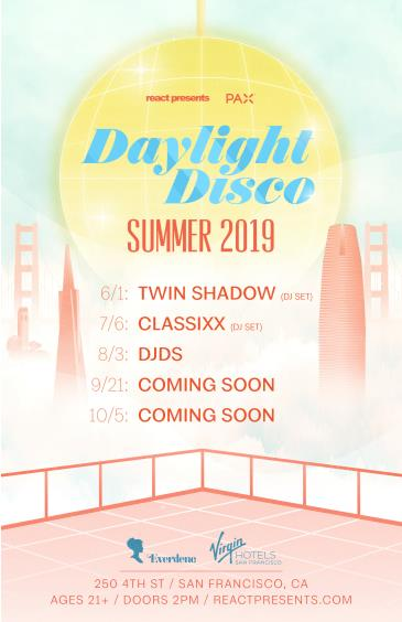 DAYLIGHT DISCO (SF): Lift Pass: Main Image