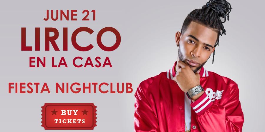 Lirico en la Casa, Fiesta Nightclub, 2019,tickets,boletos,en vivo,