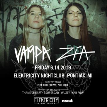 VAMPA + ZIA (Limited Free w/ RSVP Before 11PM): Main Image