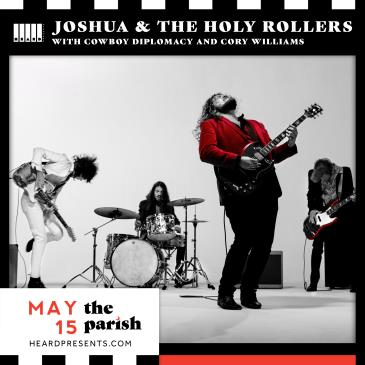 Joshua & The Holy Rollers w/ Cowboy Diplomacy + More: Main Image