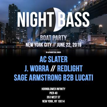 NIGHT BASS BOAT PARTY with AC SLATER / J. WORRA / REDLIGHT: Main Image
