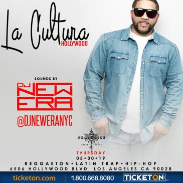 LA CULTURA THURSDAYS | DJ NEW ERA & TORI BRIXX AT PLAYHOUSE: Main Image
