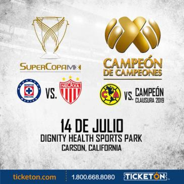 SUPER COPA MX + CAMPEON DE CAMPEONES: Main Image