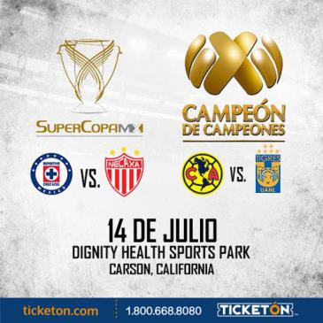 SUPER COPA MX + CAMPEON DE CAMPEONES