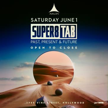 Super 8 & Tab – Past, Present and Future – Open to Close: Main Image