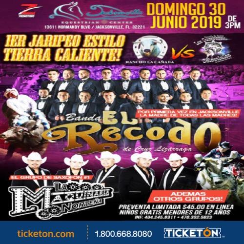 Banda El Recodo Jacksonville Tickets Boletos Equestrian Cntr