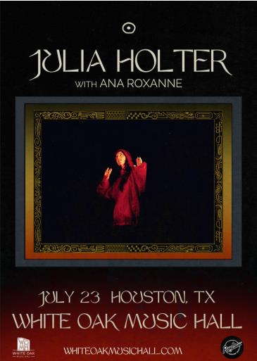 Julia Holter with Ana Roxanne: Main Image