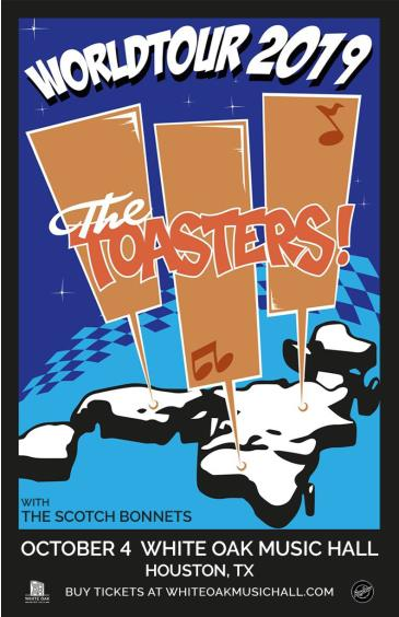 The Toasters, The Scotch Bonnets: Main Image