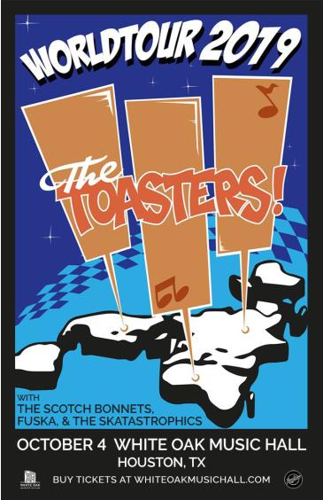 The Toasters, The Scotch Bonnets, Fuska & The Skatastrophics: Main Image