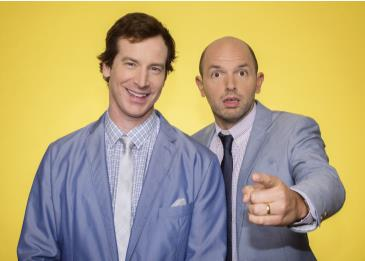 Rob Huebel & Paul Scheer present CRASH TEST: Main Image