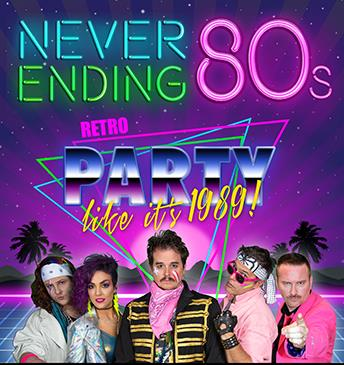 Never Ending 80's: Main Image