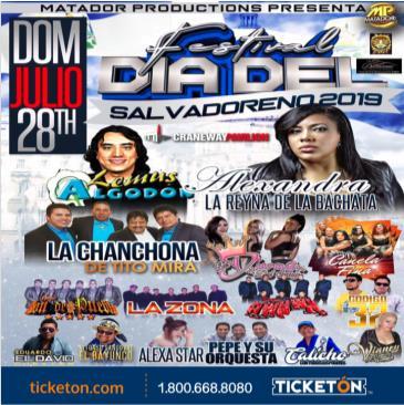 FESTIVAL DIA DEL SALVADORENO 2019: Main Image