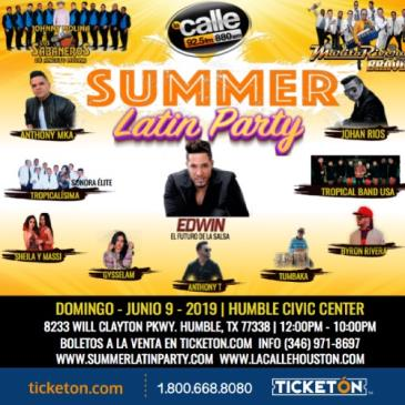 SUMMER LATIN PARTY: Main Image